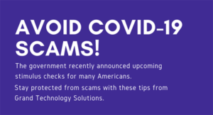 Don't Fall for COVID-19 Scams!